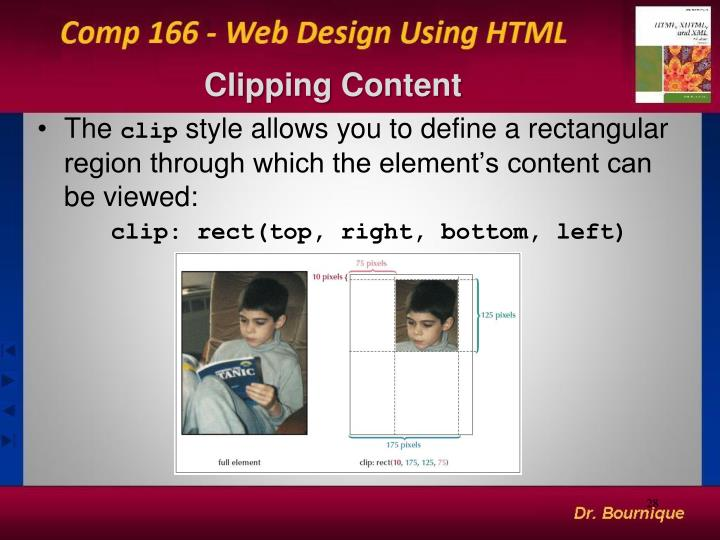 Clipping Content