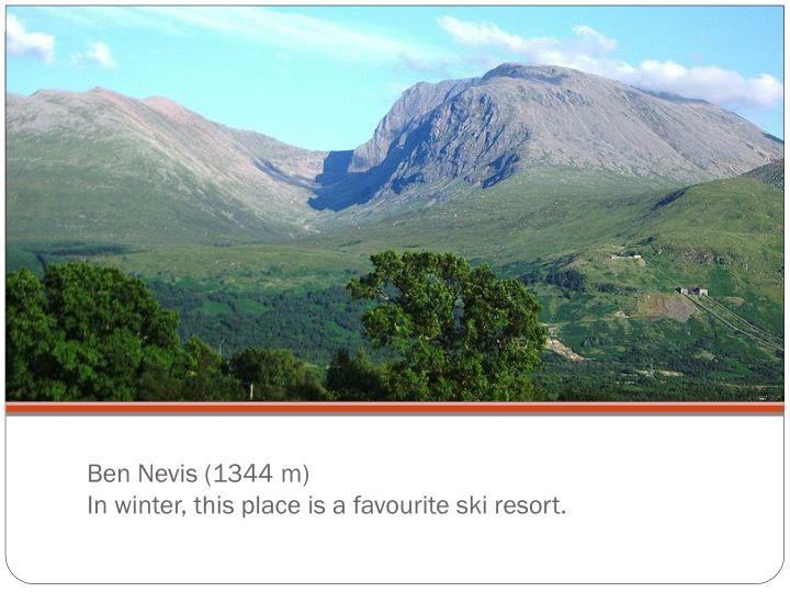 Ben Nevis (1344 m)