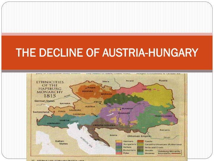austria hungary powerpoint Military plans germany's schlieffen plan russia to mobilize against germany and austria-hungary planning causes of the great war powerpoint presentation.