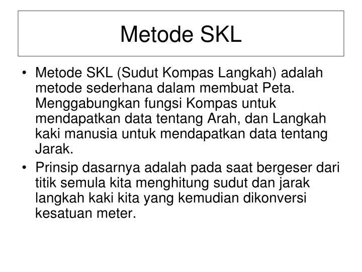 Metode SKL