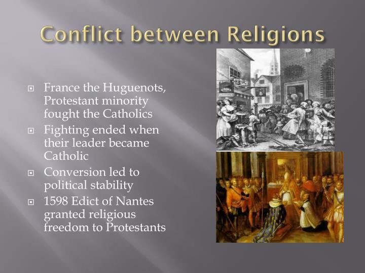 Conflict between Religions