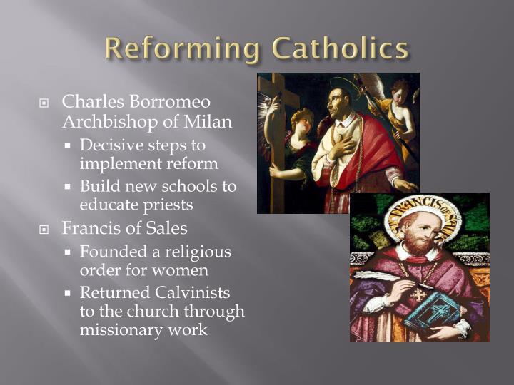 Reforming Catholics