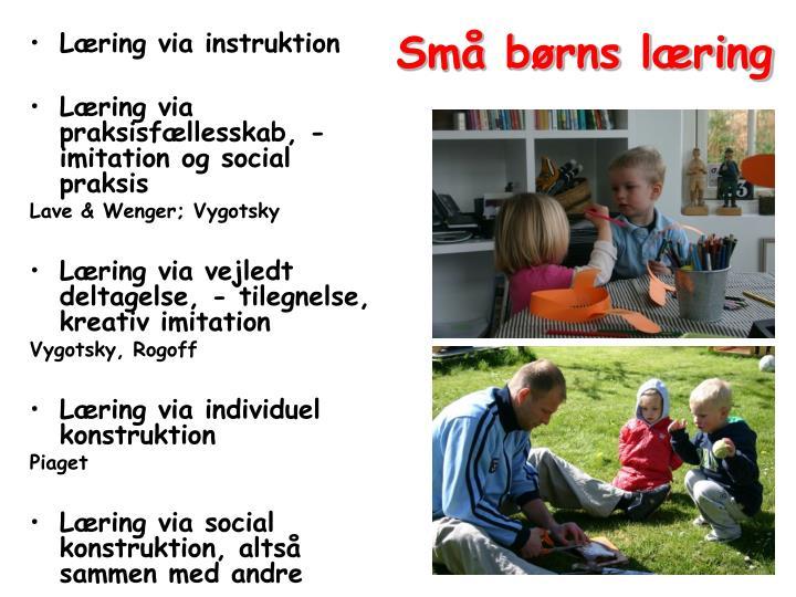 Små børns læring