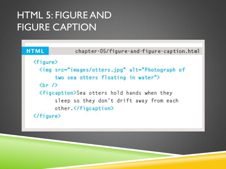HTML 5: