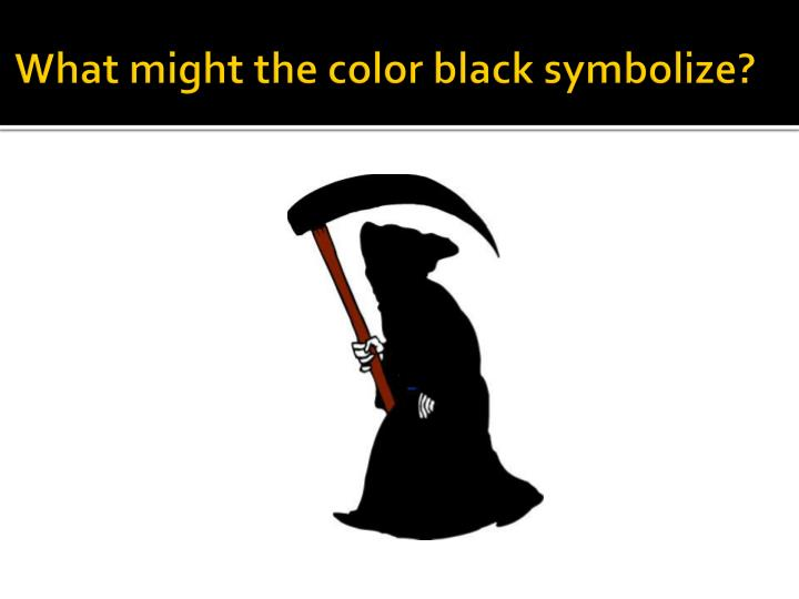 PPT - Colors and Symbolism PowerPoint Presentation - ID