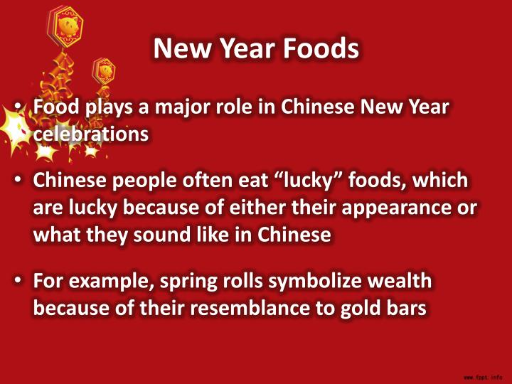 New Year Foods