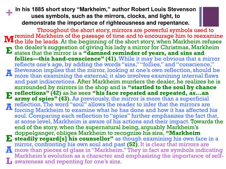 """In his 1885 short story """""""