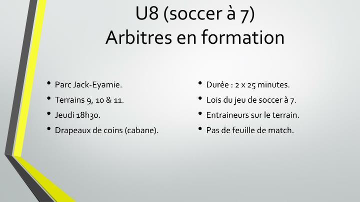 U8 (soccer à 7
