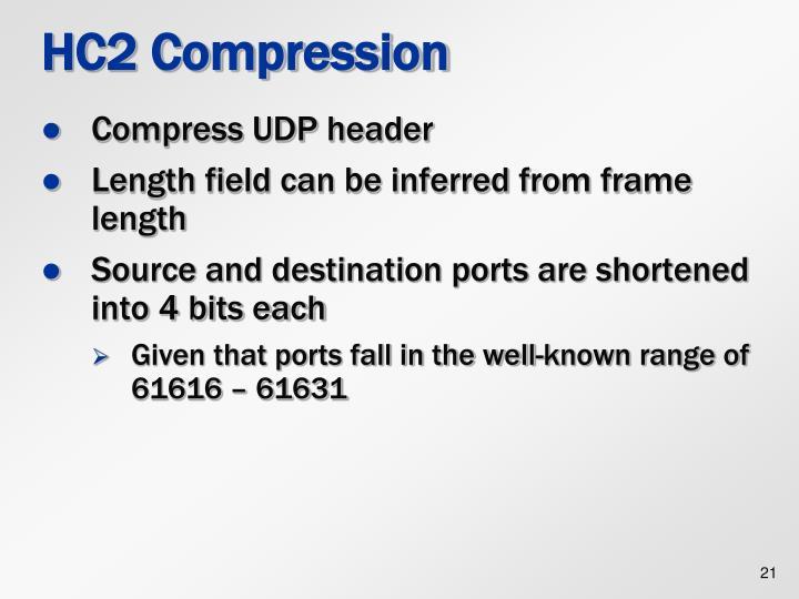 HC2 Compression