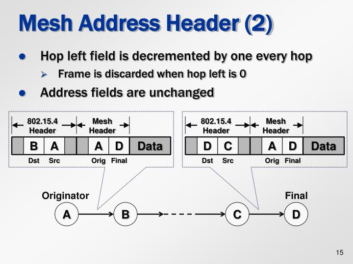 Mesh Address Header (2)