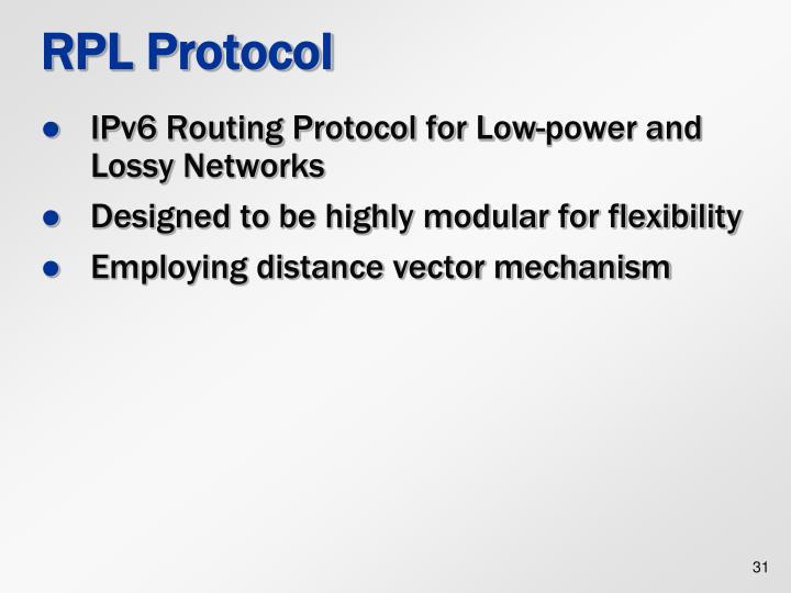 RPL Protocol