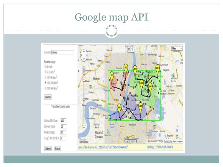 Google map API