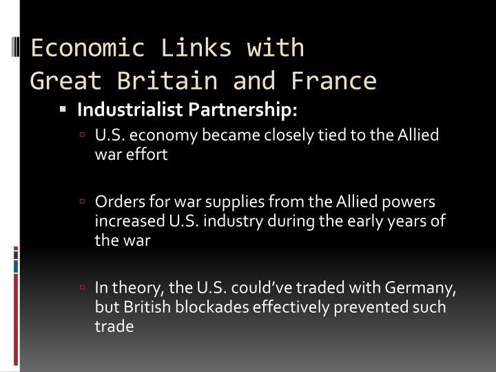 Economic Links with