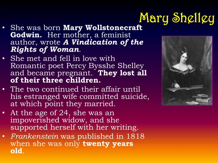 life of marry shelley essay