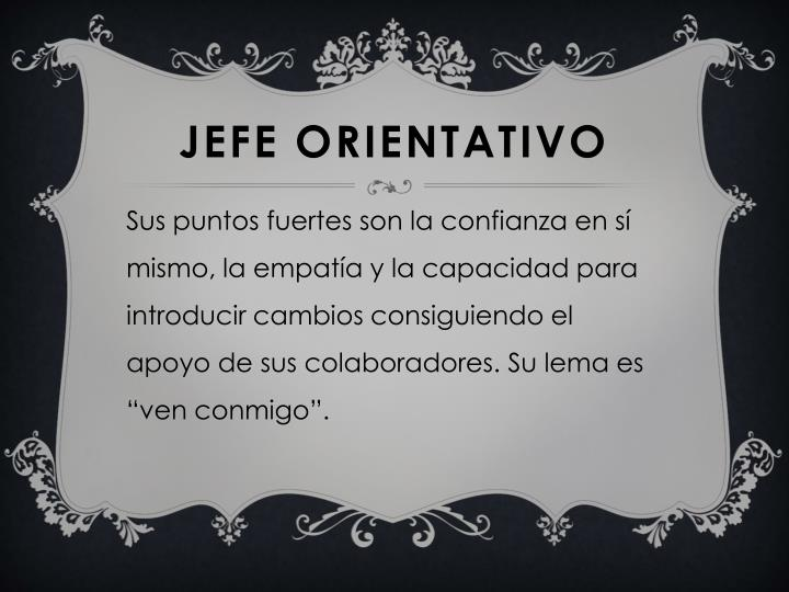 JEFE ORIENTATIVO