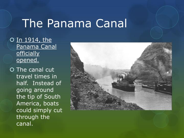 The Panama Canal