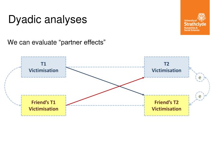 "We can evaluate ""partner effects"""