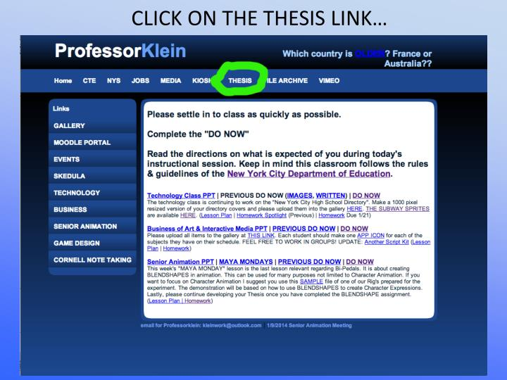 CLICK ON THE THESIS LINK…