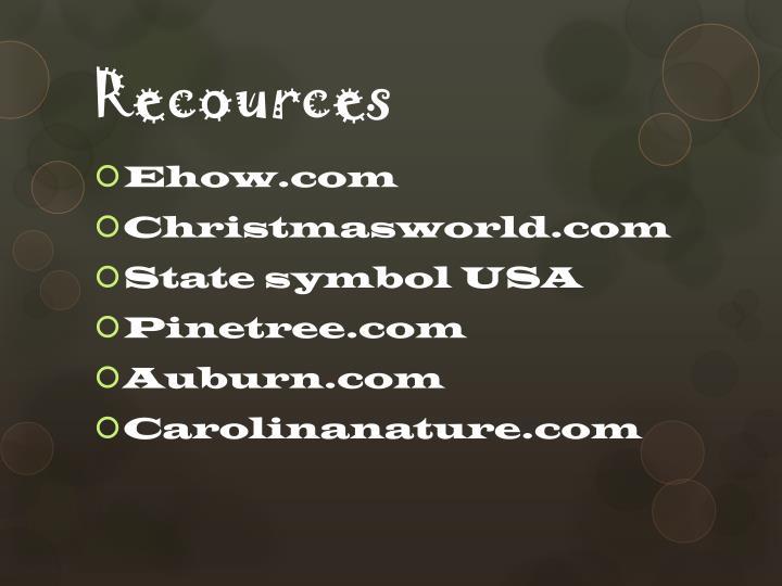 Recources