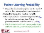 packet marking p robability