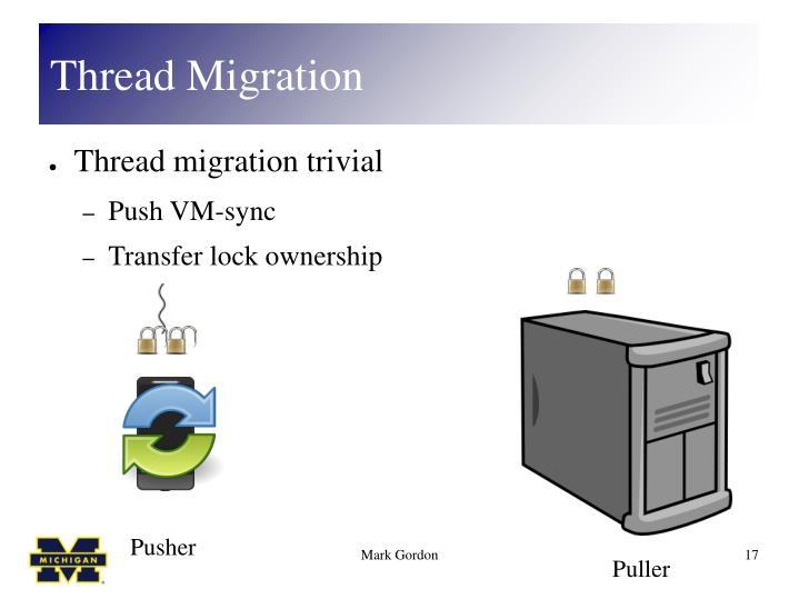 Thread Migration