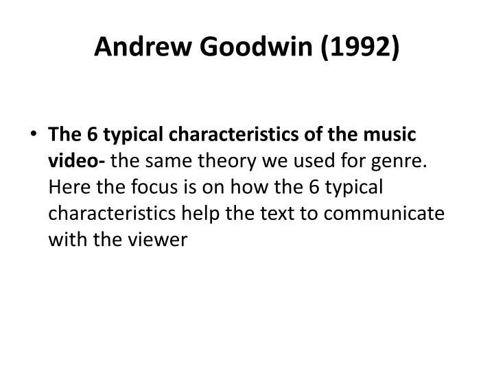 Andrew Goodwin (1992)