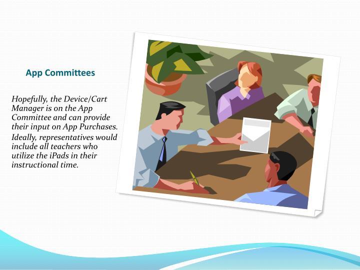 App Committees