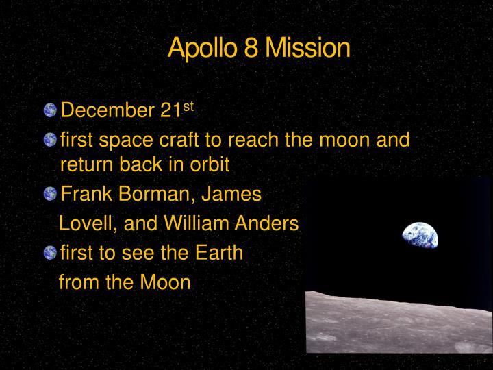 Apollo 8 Mission