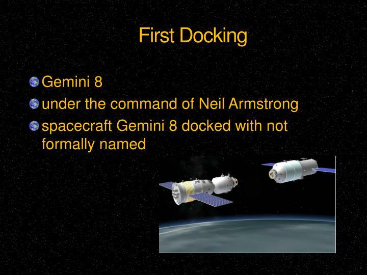 First Docking