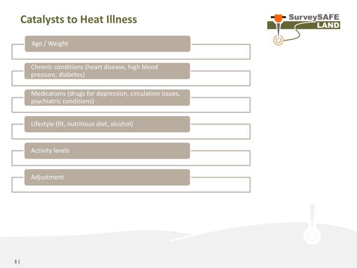 Catalysts to Heat Illness