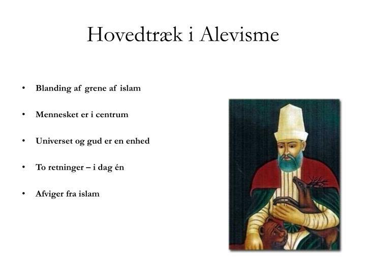 Hovedtræk i Alevisme