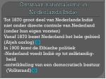 ontstaan nationalisme in nederlands indi
