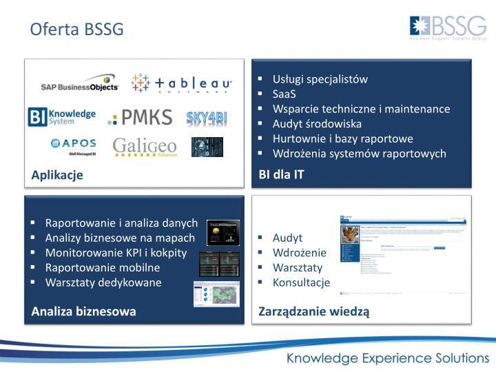Oferta BSSG