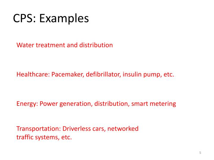 CPS: Examples