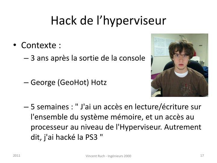 Hack de l'