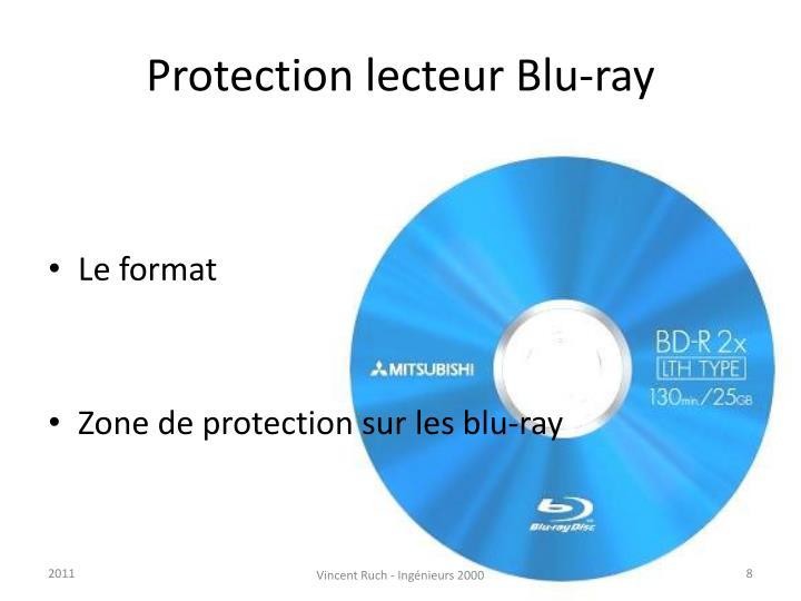 Protection lecteur