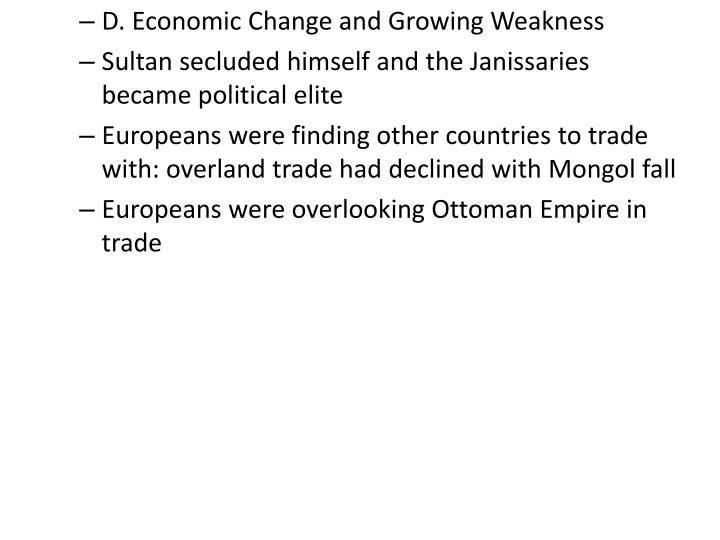 D. Economic