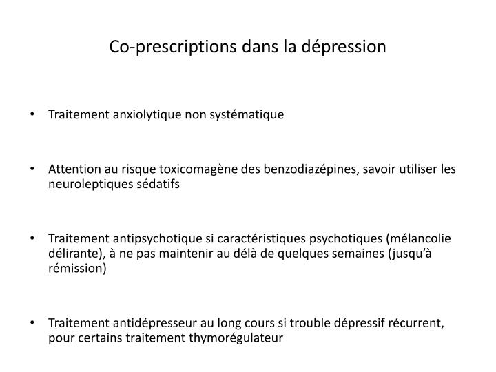 Co-prescriptions