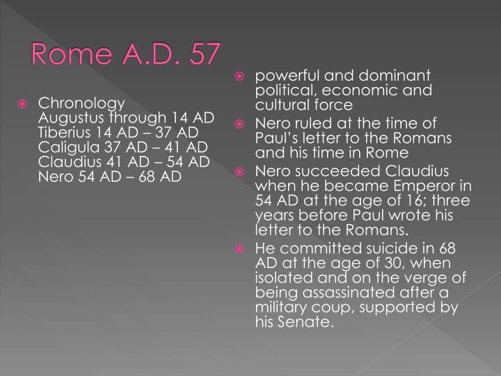 Rome A.D. 57