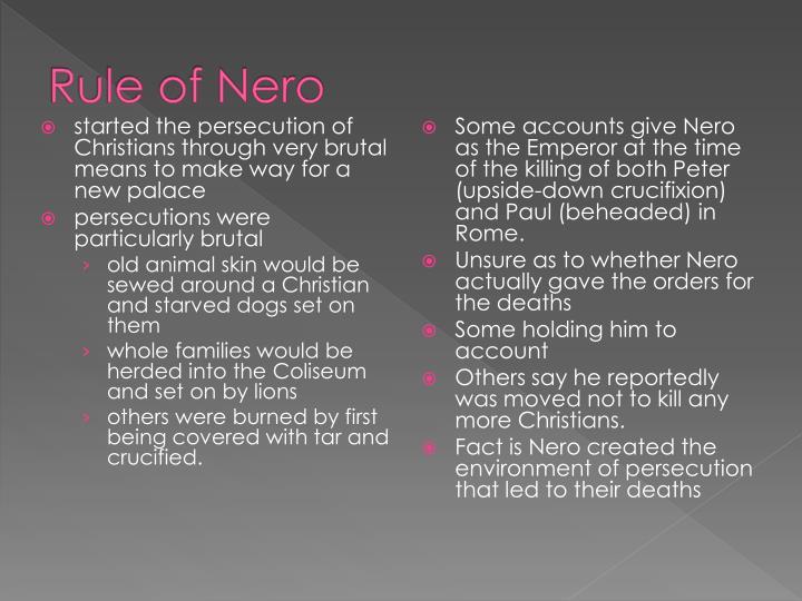 Rule of Nero