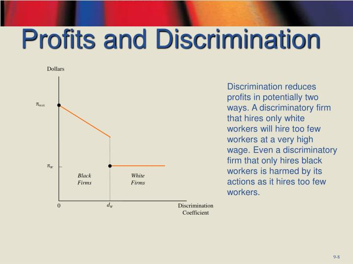 Profits and Discrimination