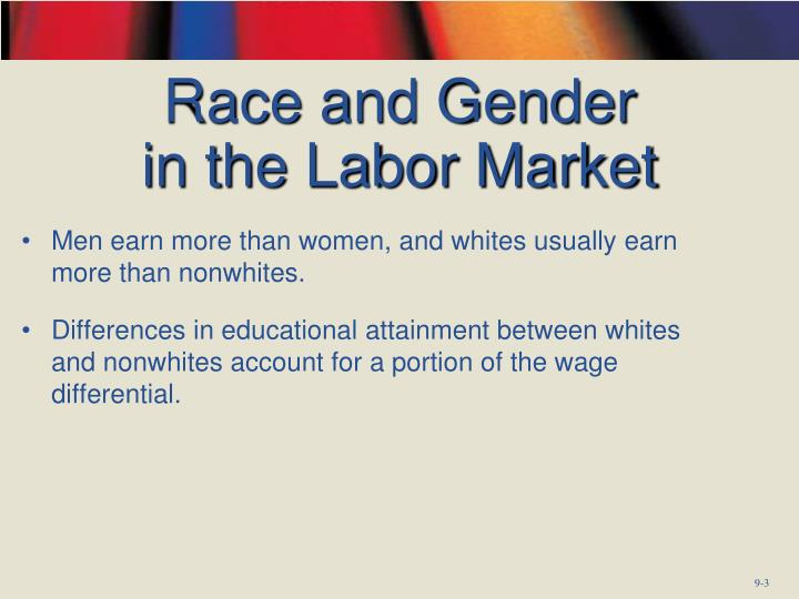 Race and gender in the labor market