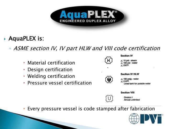 AquaPLEX