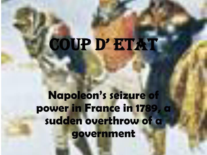 Coup d'