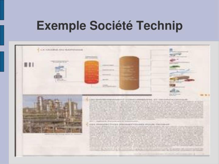 Exemple Société