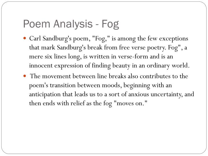 a poem analysis of chicago by carl sandburg Sandburg sometimes writes a poetry of labor, of flexing muscle the influence of whitman is clear, but of course in sandburg we have the modernist setting to deal with as well questions: in what sense is this poem's treatment of chicago similar to whitman's treatment of his subjects, if you have read some work by that poet.