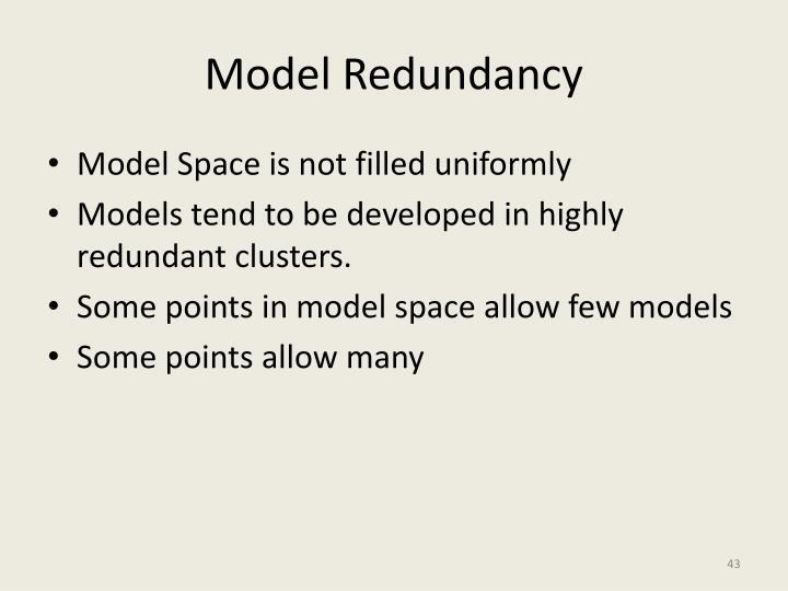 Model Redundancy