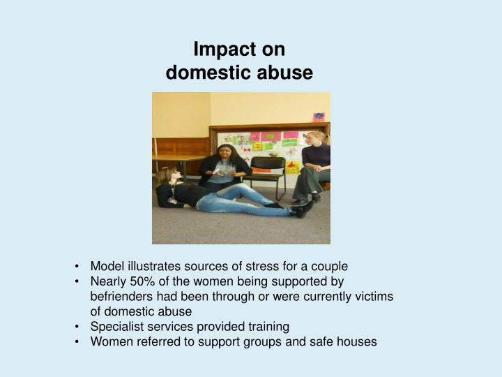 Impact on domestic abuse