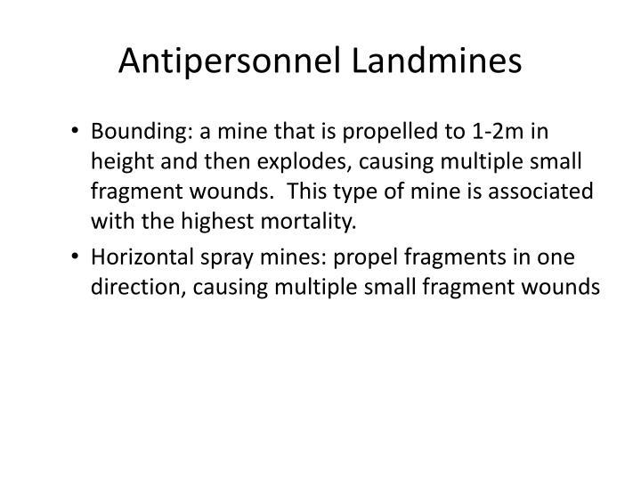 Antipersonnel Landmines