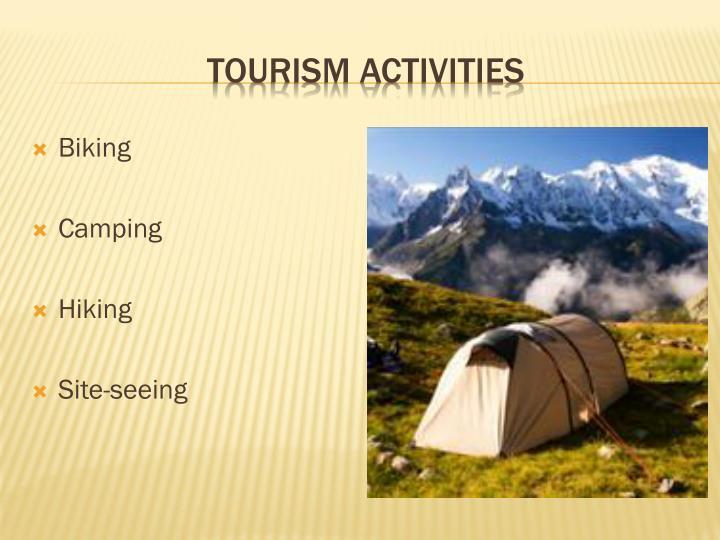 Tourism Activities